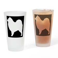 samoyedpatch Drinking Glass