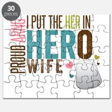 I Put the Her in Hero Proud ARNG Wife Puzzle