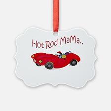 Hot Rod Mama Ornament