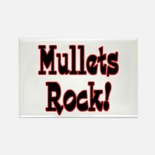 Mullets Rock! Design Rectangle Magnet