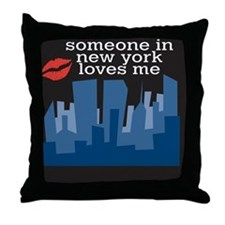 SomeoneNYC Throw Pillow