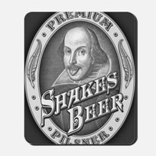 Shakespeare-beer-OV Mousepad