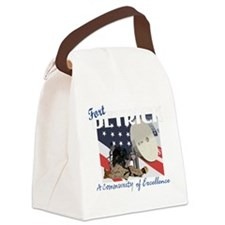 Fort Detrick Canvas Lunch Bag