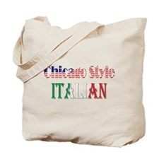 Chicago Style Italians Tote Bag