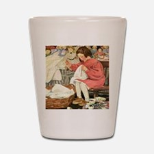A Childs Book-Sewing_SQ Shot Glass