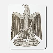 Vintage Egypt Coat Of Arms Mousepad