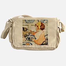 Breakfast Buddies_SQ Messenger Bag
