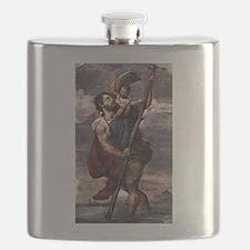 Saint Christopher - Titian - c1524 Flask