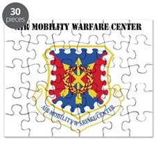 Air Mobility Warfare Center with Text Puzzle