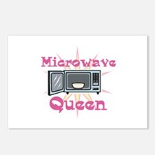 Microwave Queen Postcards (Package of 8)