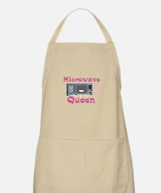 Microwave Queen BBQ Apron