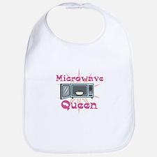 Microwave Queen Bib