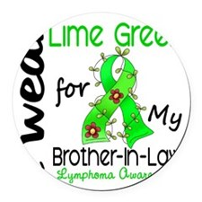 D Brother-In-Law Round Car Magnet