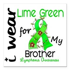 """D Brother Square Car Magnet 3"""" x 3"""""""