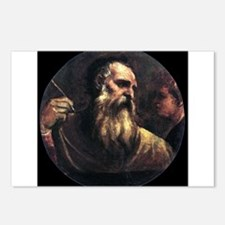 Saint Matthew the Evangelist - Titian Postcards (P