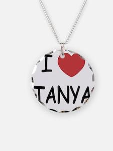 I heart TANYA Necklace