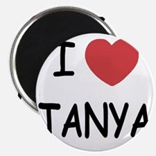 I heart TANYA Magnet