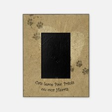 Paw Prints on our Hearts Picture Frame