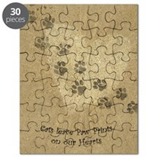 Paw Prints on our Hearts Puzzle