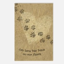 Paw Prints on our Hearts Postcards (Package of 8)