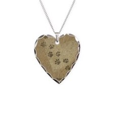 Paw Prints on our Hearts Necklace
