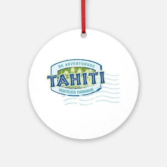 Tahiti Ornament (Round)