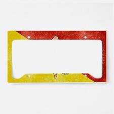 Sicily Flag License Plate Holder