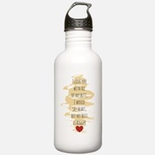 I Love You Water Bottle