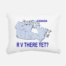 RV There Yet? Canada Rectangular Canvas Pillow