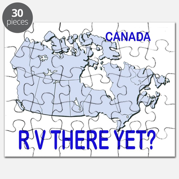 RV There Yet? Canada Puzzle
