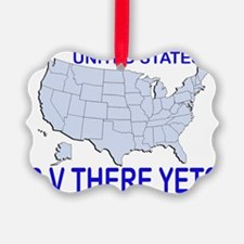 RV There Yet? US Ornament