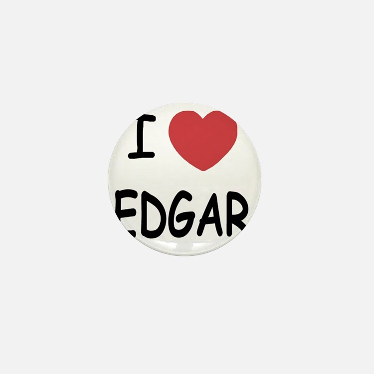 I heart EDGAR Mini Button