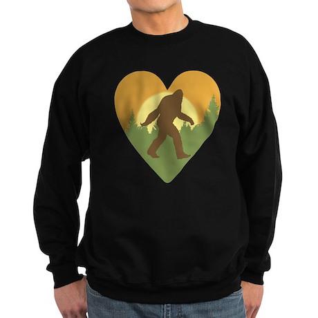 Bigfoot Love Sweatshirt (dark)