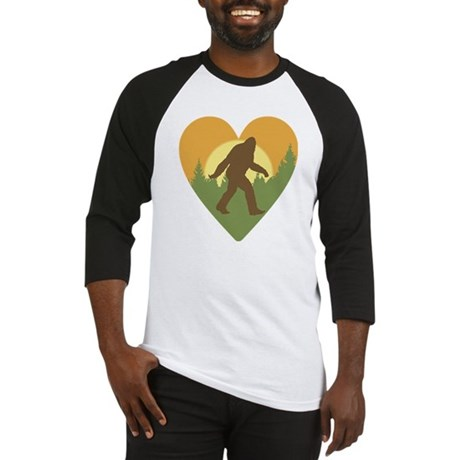 Bigfoot Love Baseball Jersey
