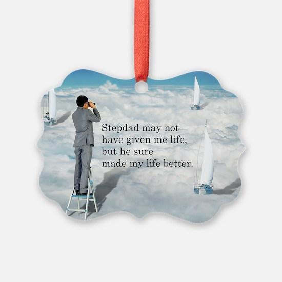 My Life Better - Postcards Ornament