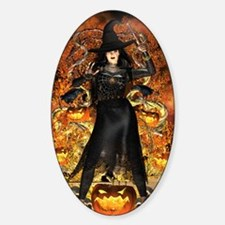 Halloween Witch Decal