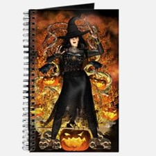 Halloween Witch Journal
