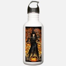 Halloween Witch Sports Water Bottle