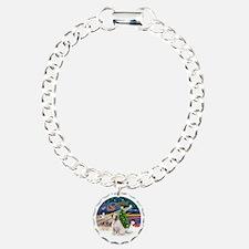 R-XmasMagic-ClumberSpani Bracelet