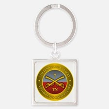 7th Tennessee Cavalry Square Keychain