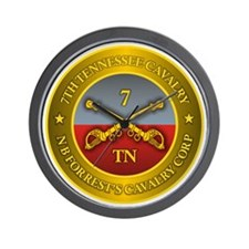 7th Tennessee Cavalry Wall Clock