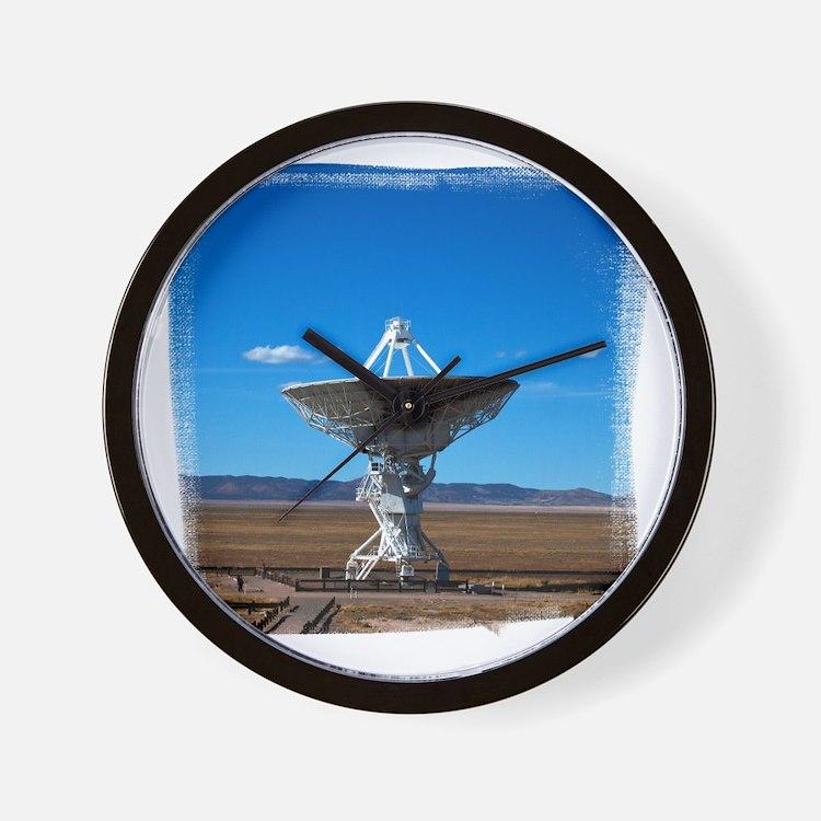 (16) VLA Dish Walkw... Wall Clock