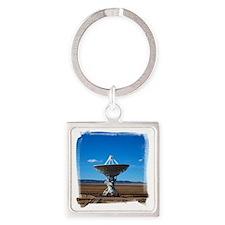 (16) VLA Dish Walkw... Square Keychain