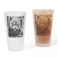 Red Panda Mens Wallet Drinking Glass