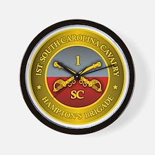 1st South Carolina Cavalry Wall Clock