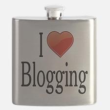 I Love Blogging Flask