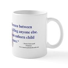 ADH Pro-life Bumper Sticker (LT) Mug