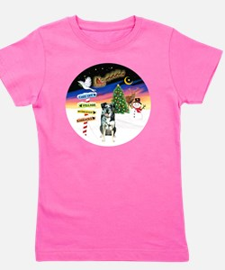 R-XmasSigns-CatahoulaLD Girl's Tee