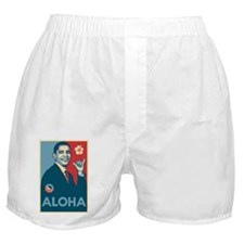 Obama Aloha Boxer Shorts