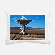 (12) VLA Dish Walkway Rectangular Canvas Pillow
